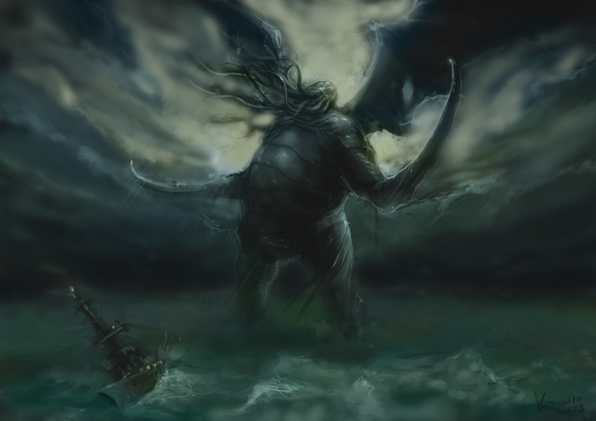 Cthulhu awakening Concept by HD Wallpaper