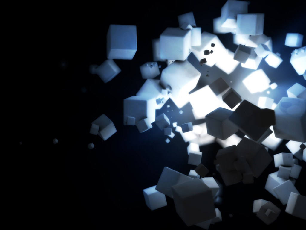 cubes sugar abstract HD Wallpaper