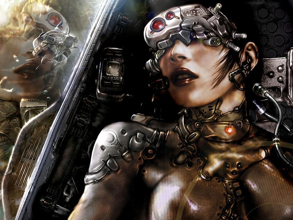 cyborg HD Wallpaper