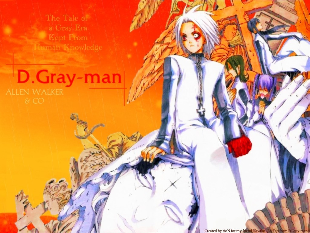 d gray-man HD Wallpaper
