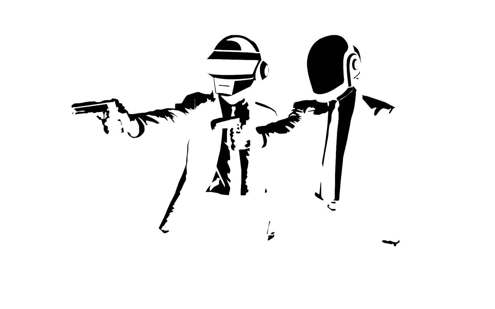 daft punk pulp fiction HD Wallpaper