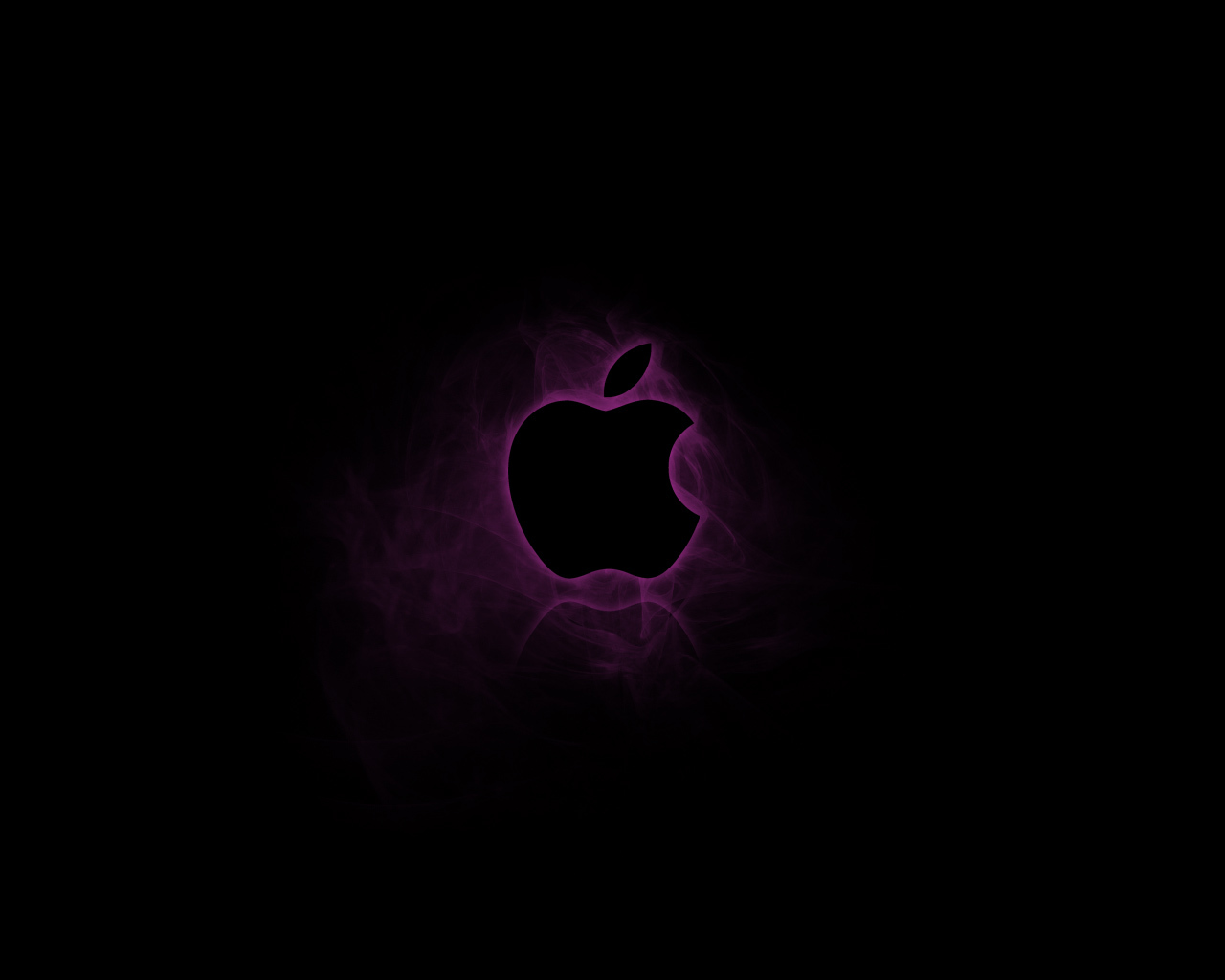 dark apple inc logos