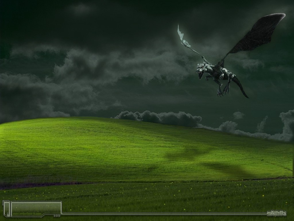 dark Dragons microsoft windows HD Wallpaper