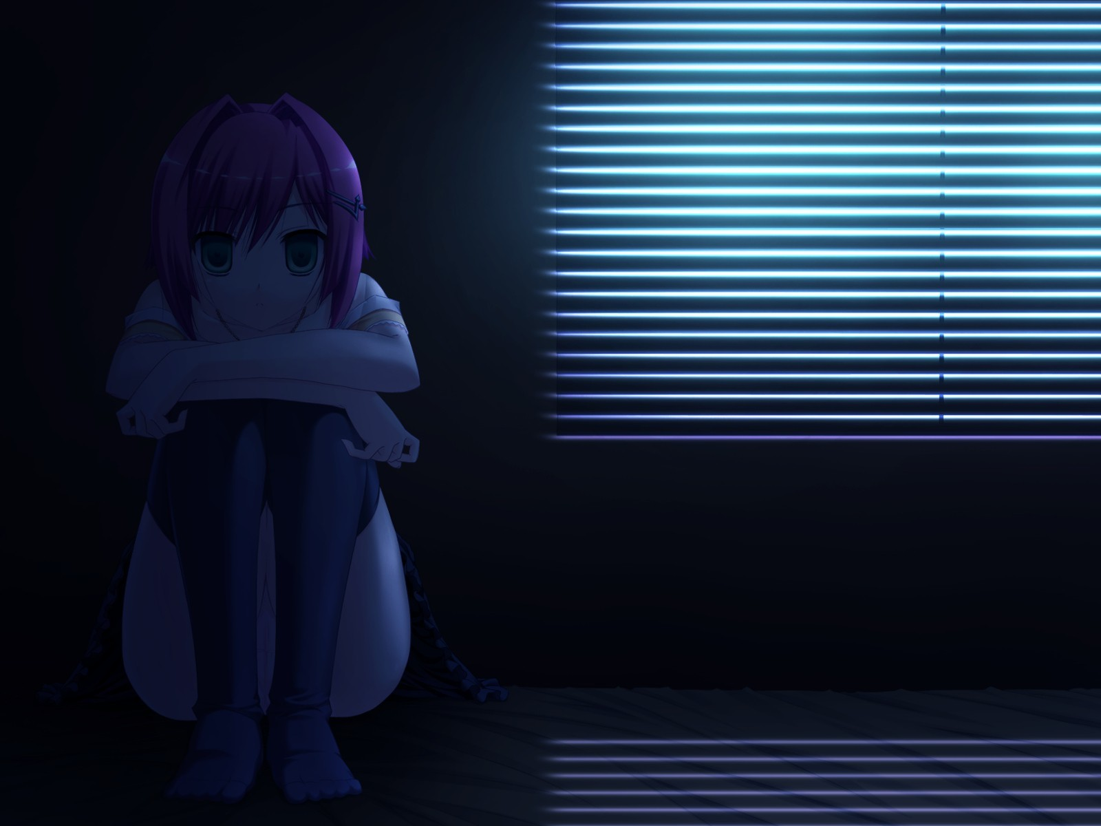 dark lonely Anime anime HD Wallpaper