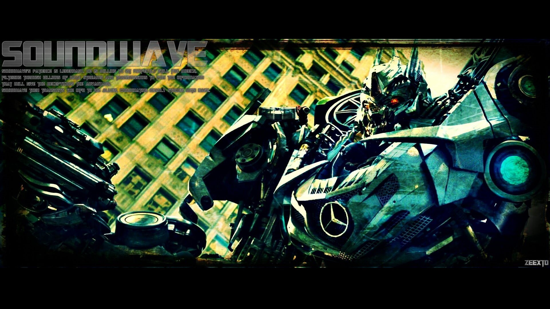 dark moon Robots Transformers HD Wallpaper