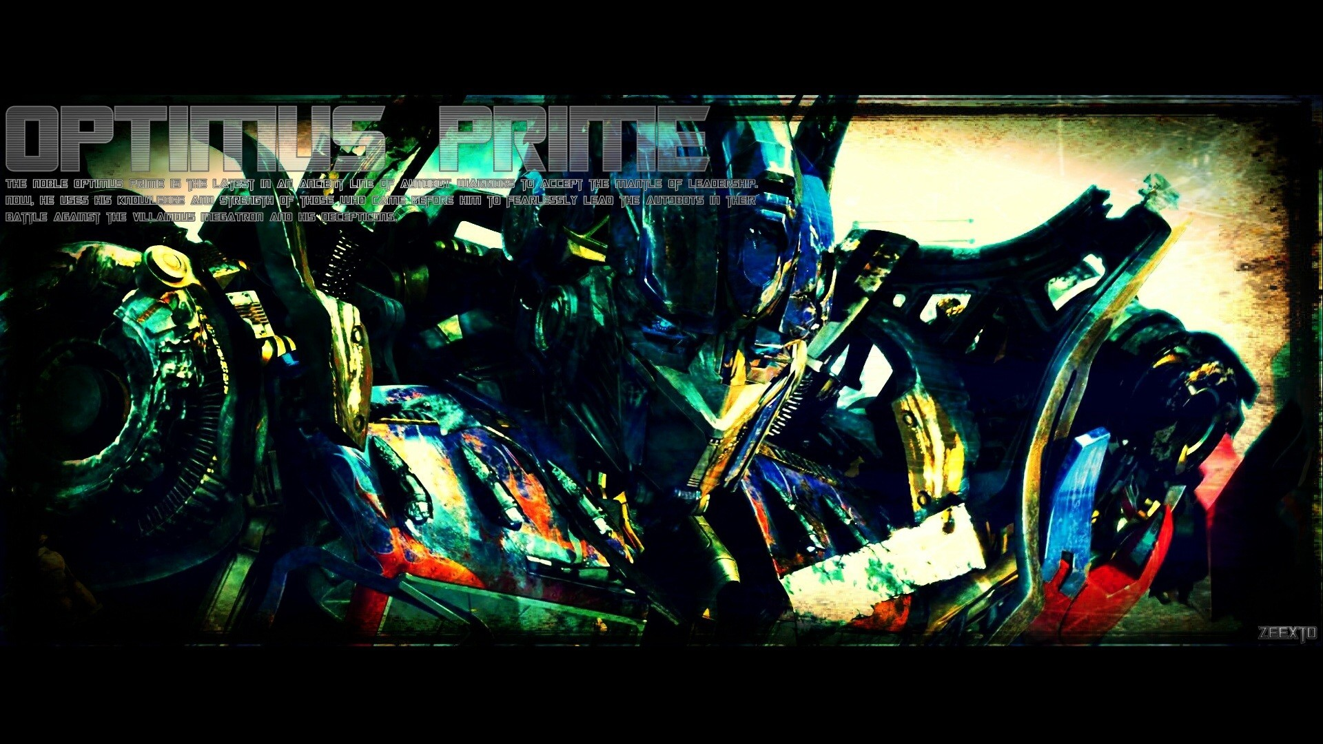 dark moon Robots Transformers optimus prime HD Wallpaper
