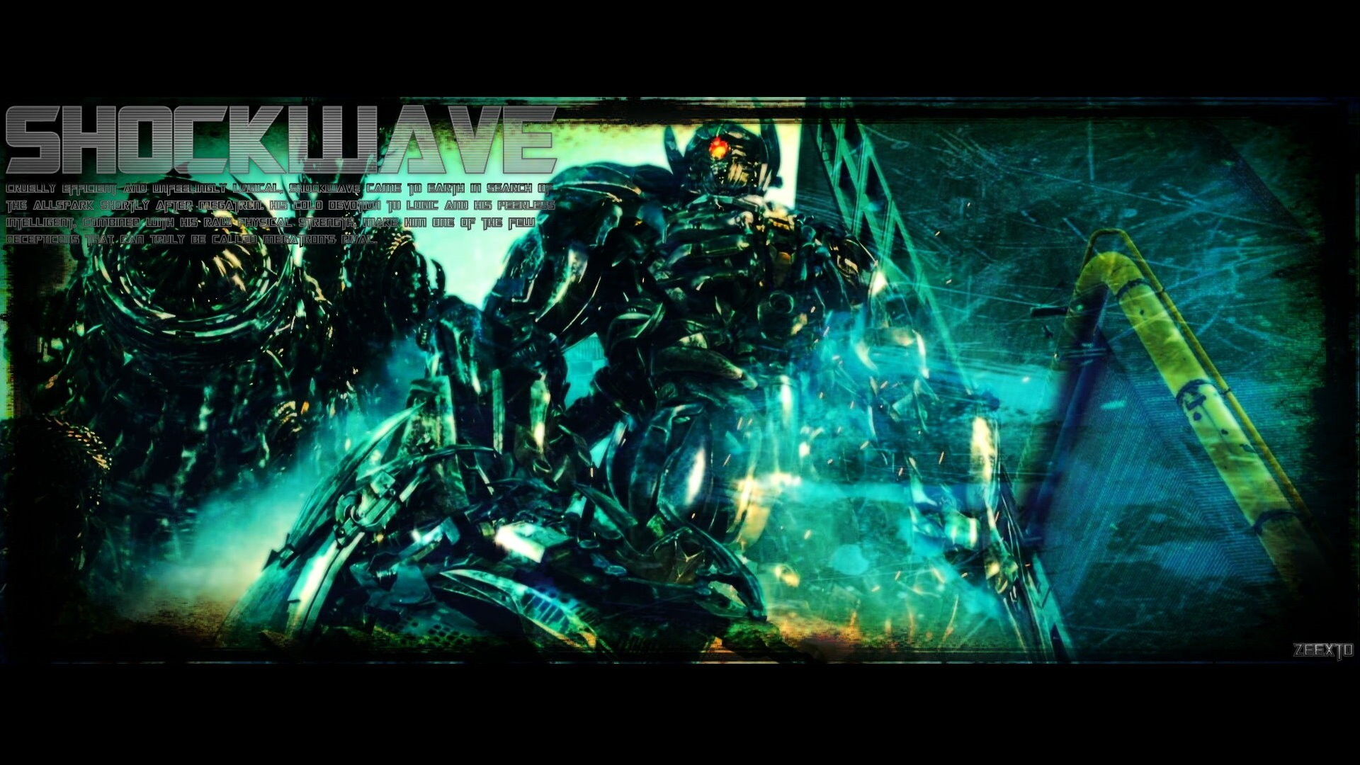 dark moon Robots Transformers shockwave HD Wallpaper