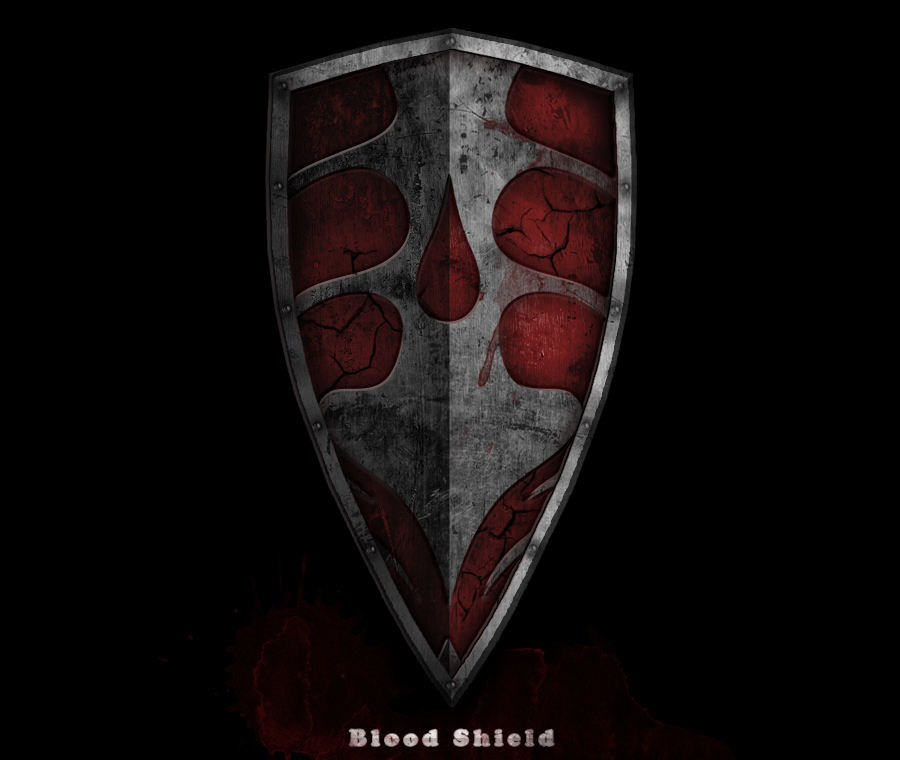 dark souls blood shield
