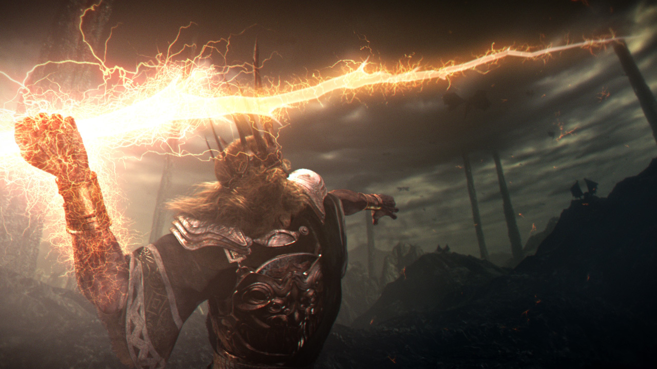 dark souls Gwyn Lord HD Wallpaper