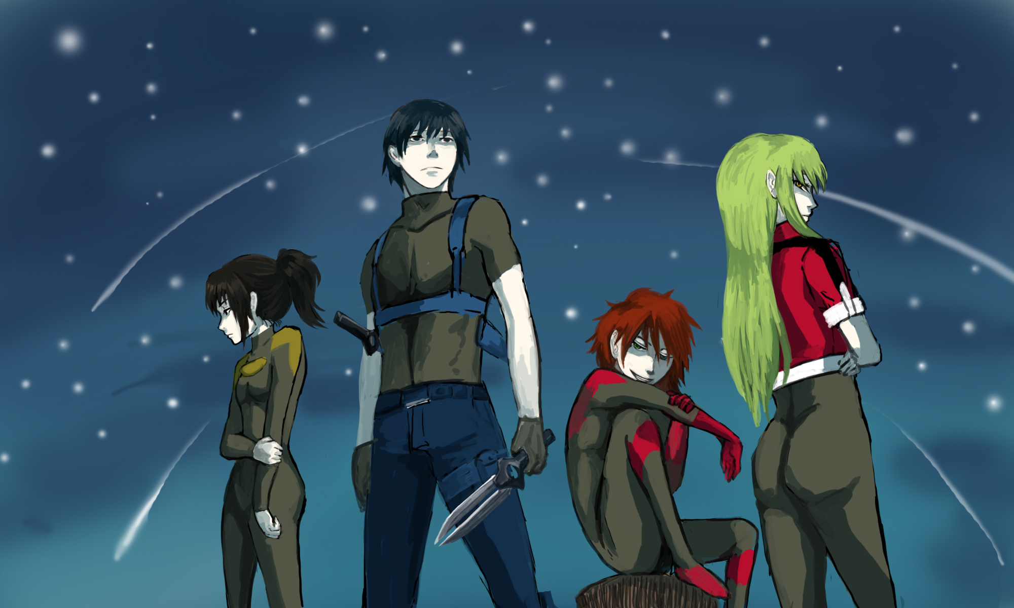 darker than black hei