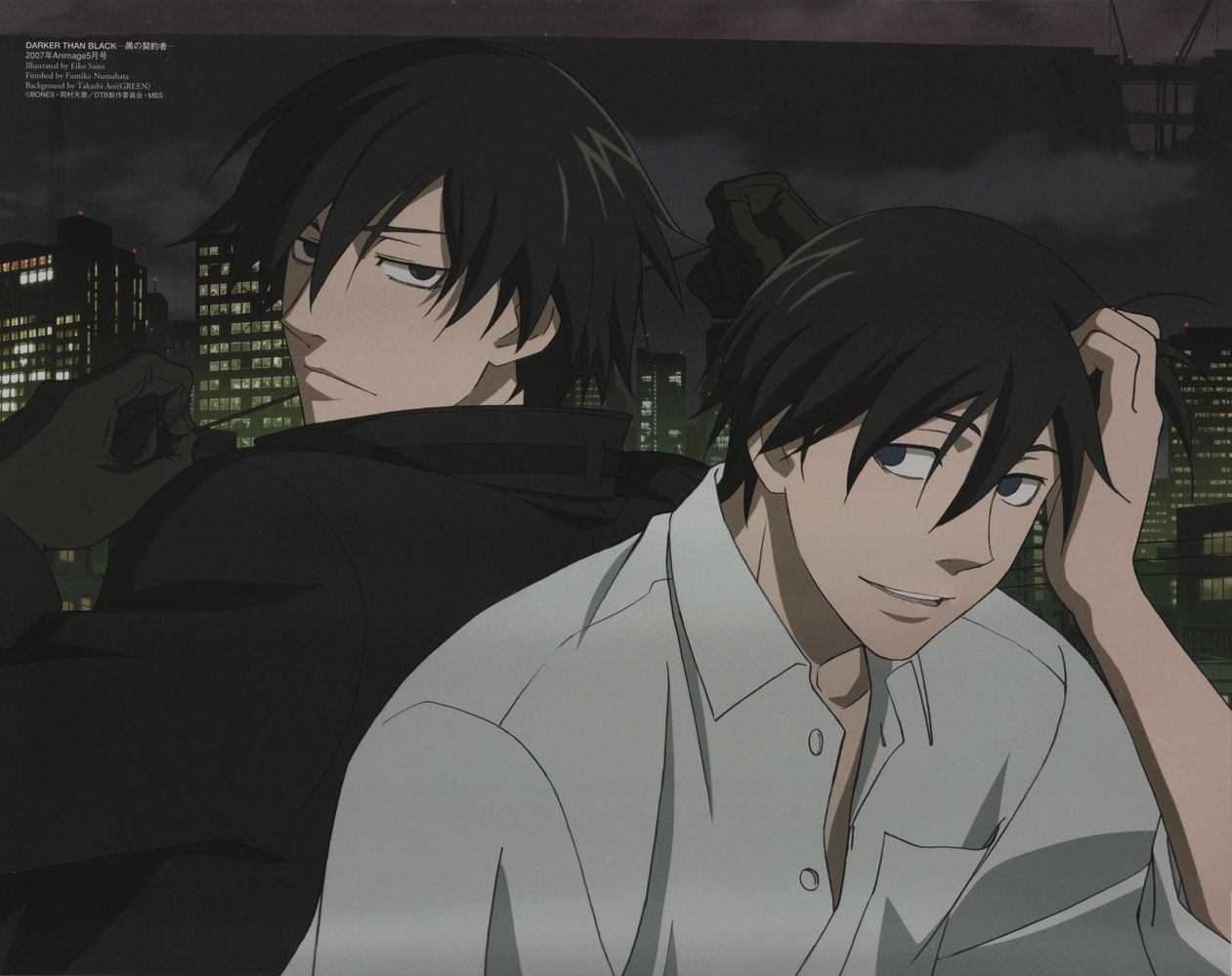 darker than black hei HD Wallpaper