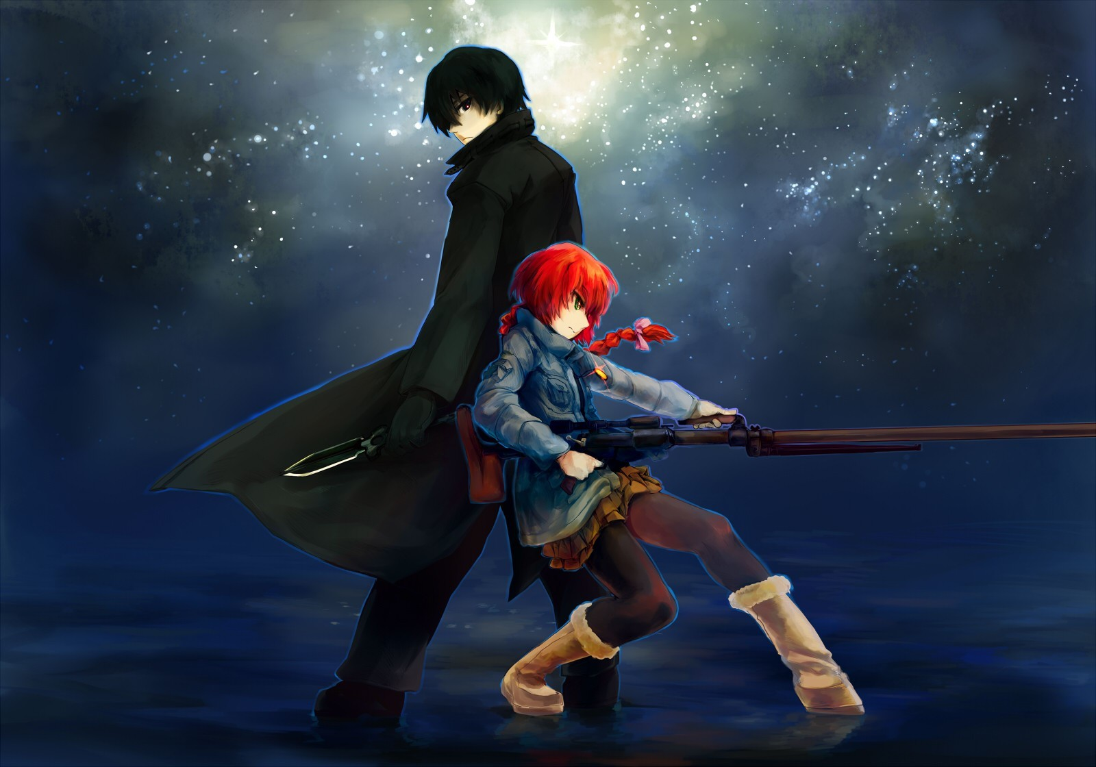 darker than black hei Pavlichenko Suou