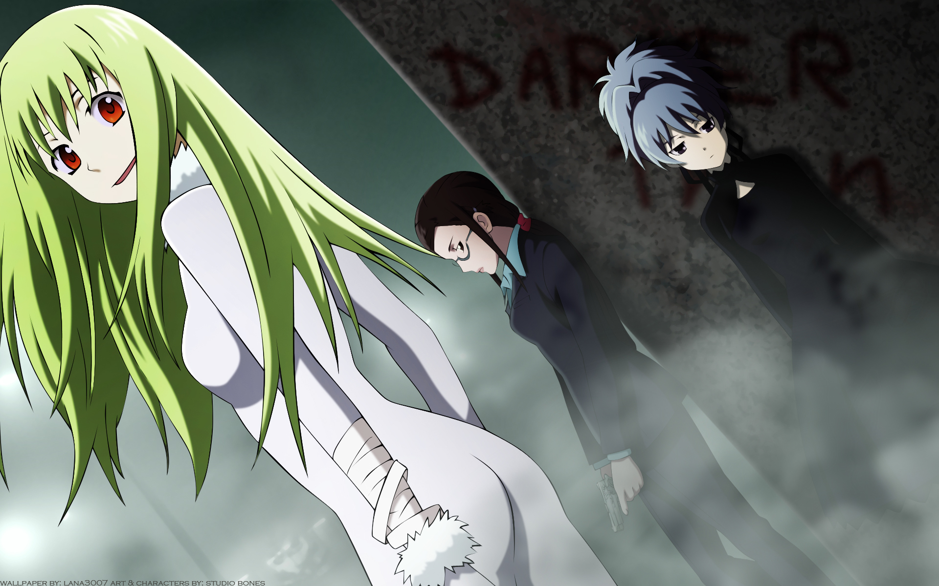 darker than black kirihara HD Wallpaper