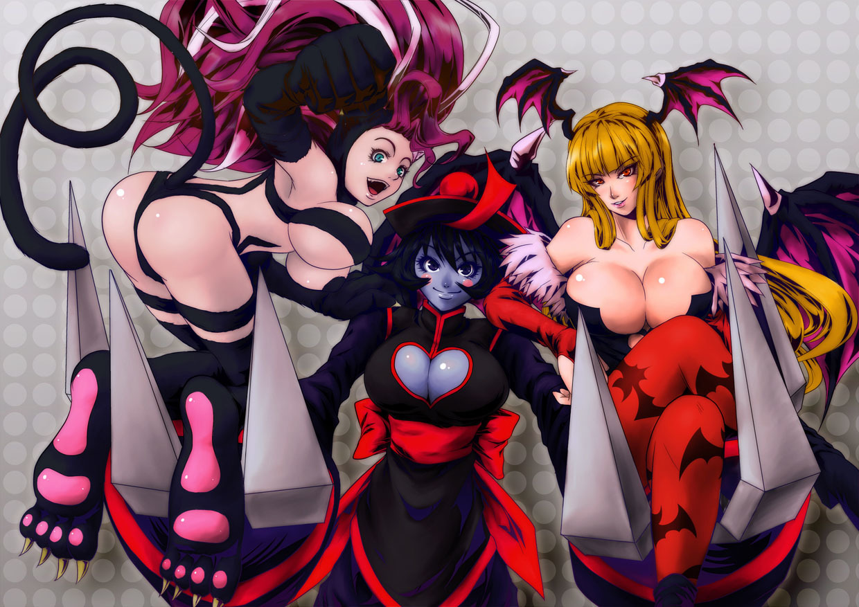Darkstalkers animal ears alternate HD Wallpaper