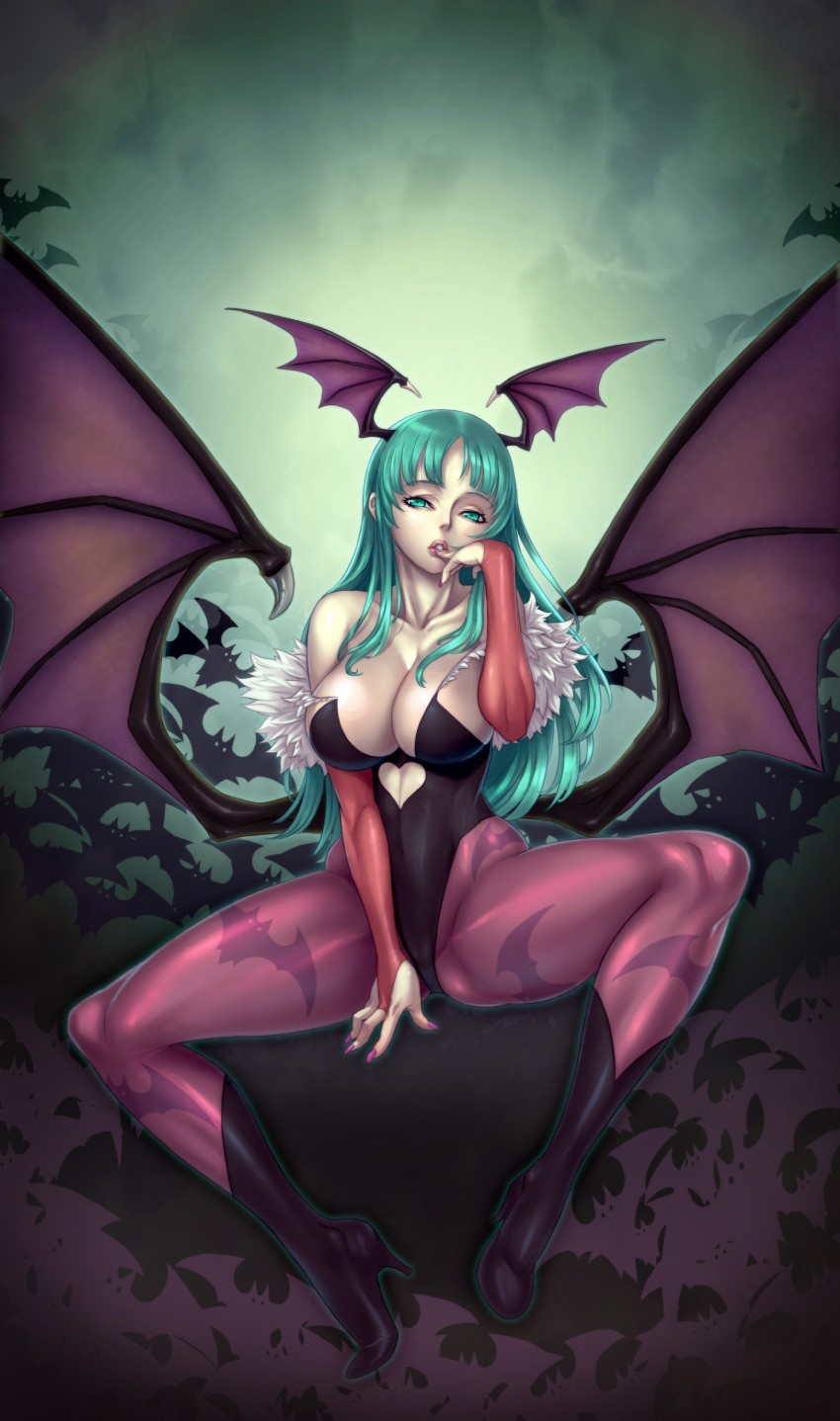 Darkstalkers Morrigan Aensland bare HD Wallpaper