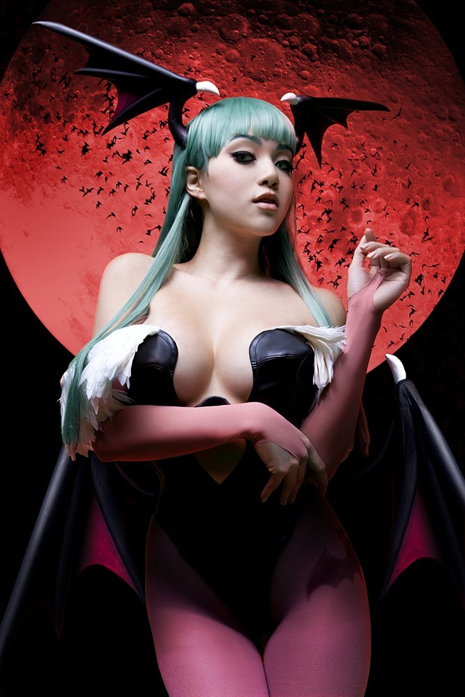 Darkstalkers woman cosplay models HD Wallpaper