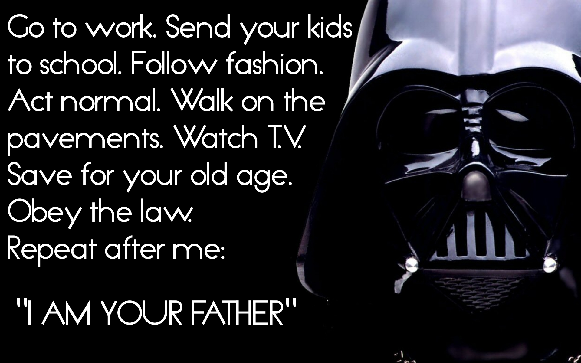 Darth Vader jokes