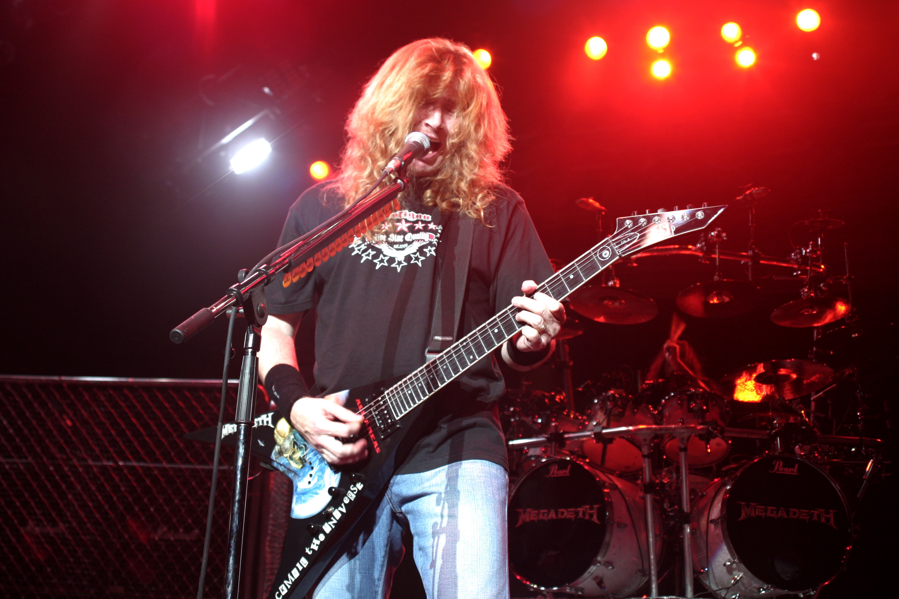 dave mustaine megadeth HD Wallpaper