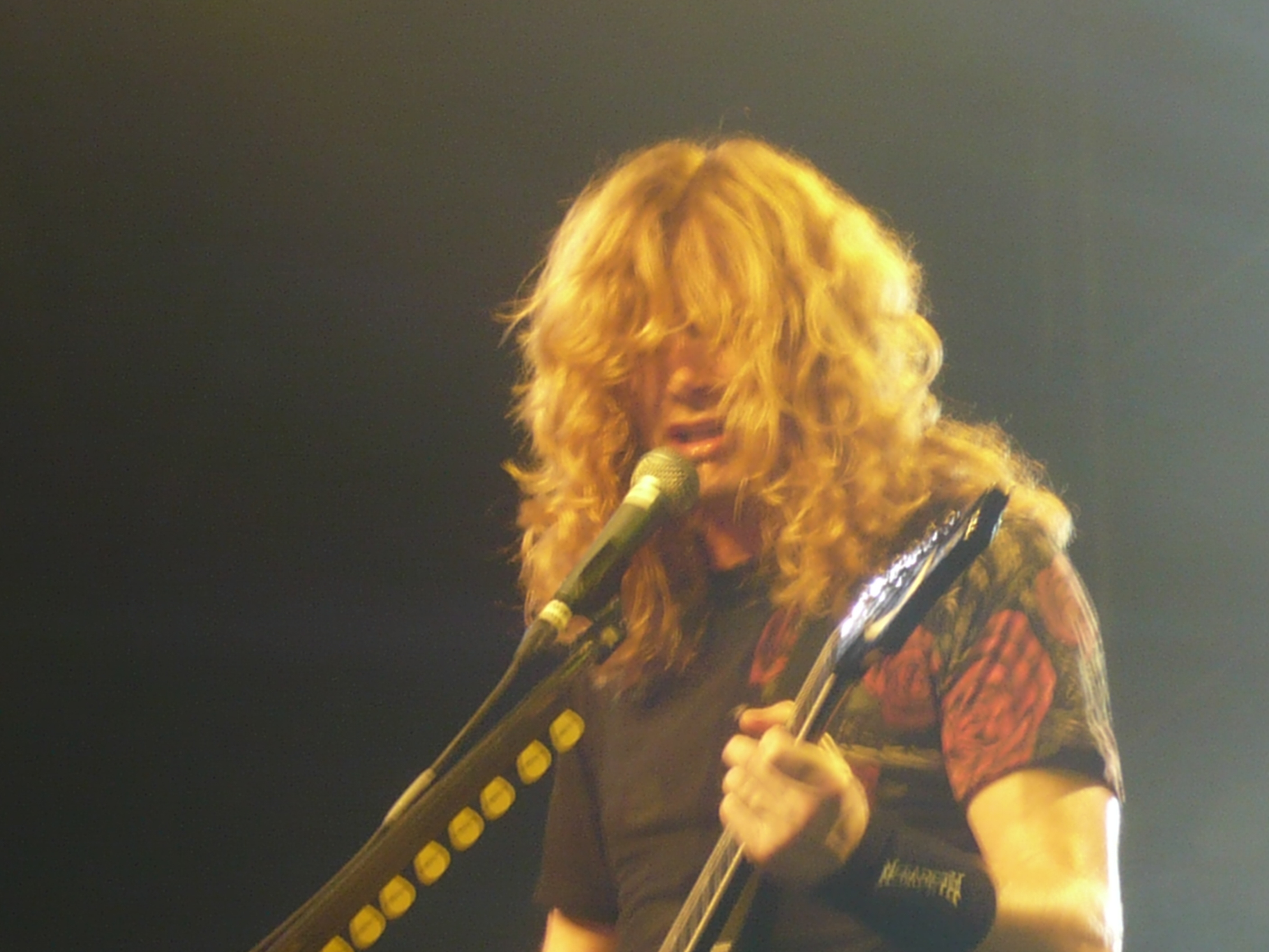 dave mustaine Thrash metal HD Wallpaper