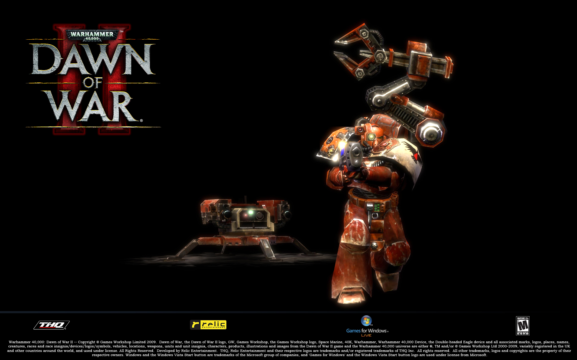 Dawn Of War HD Wallpaper