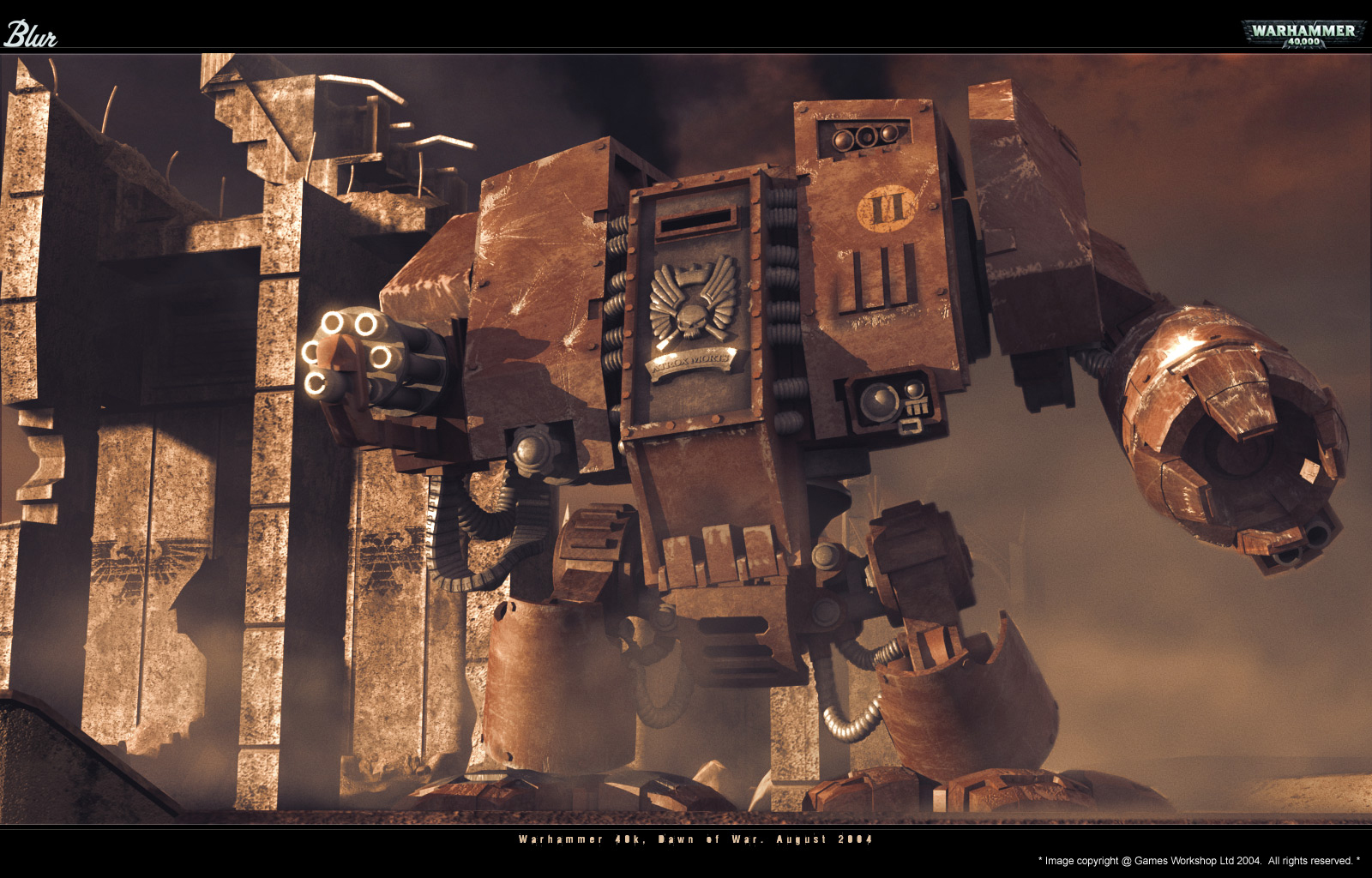 Dawn Of War dreadnought HD Wallpaper