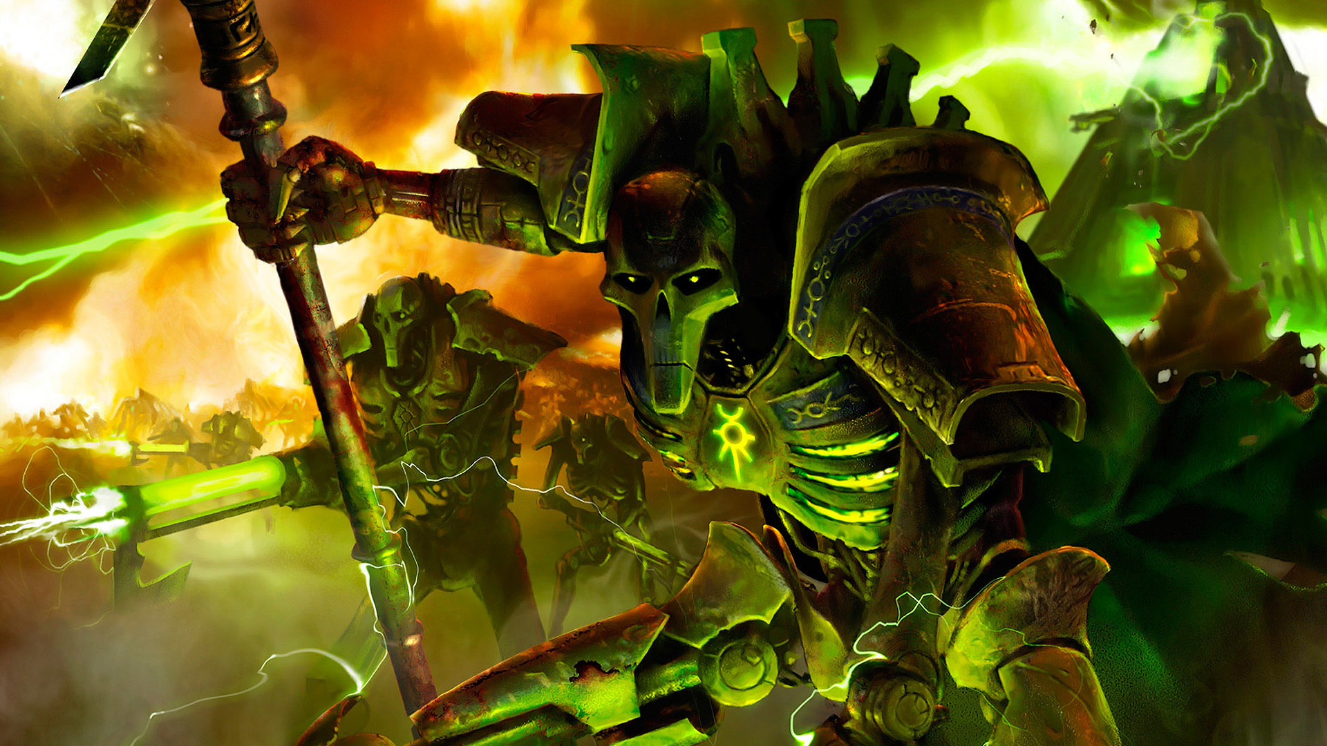 Dawn Of War Necrons HD Wallpaper