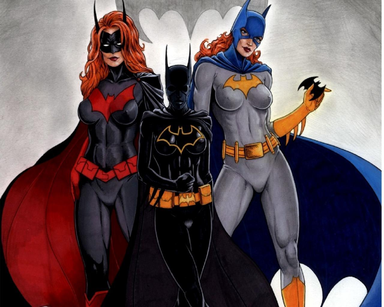 dc comics Batgirl Batwoman HD Wallpaper