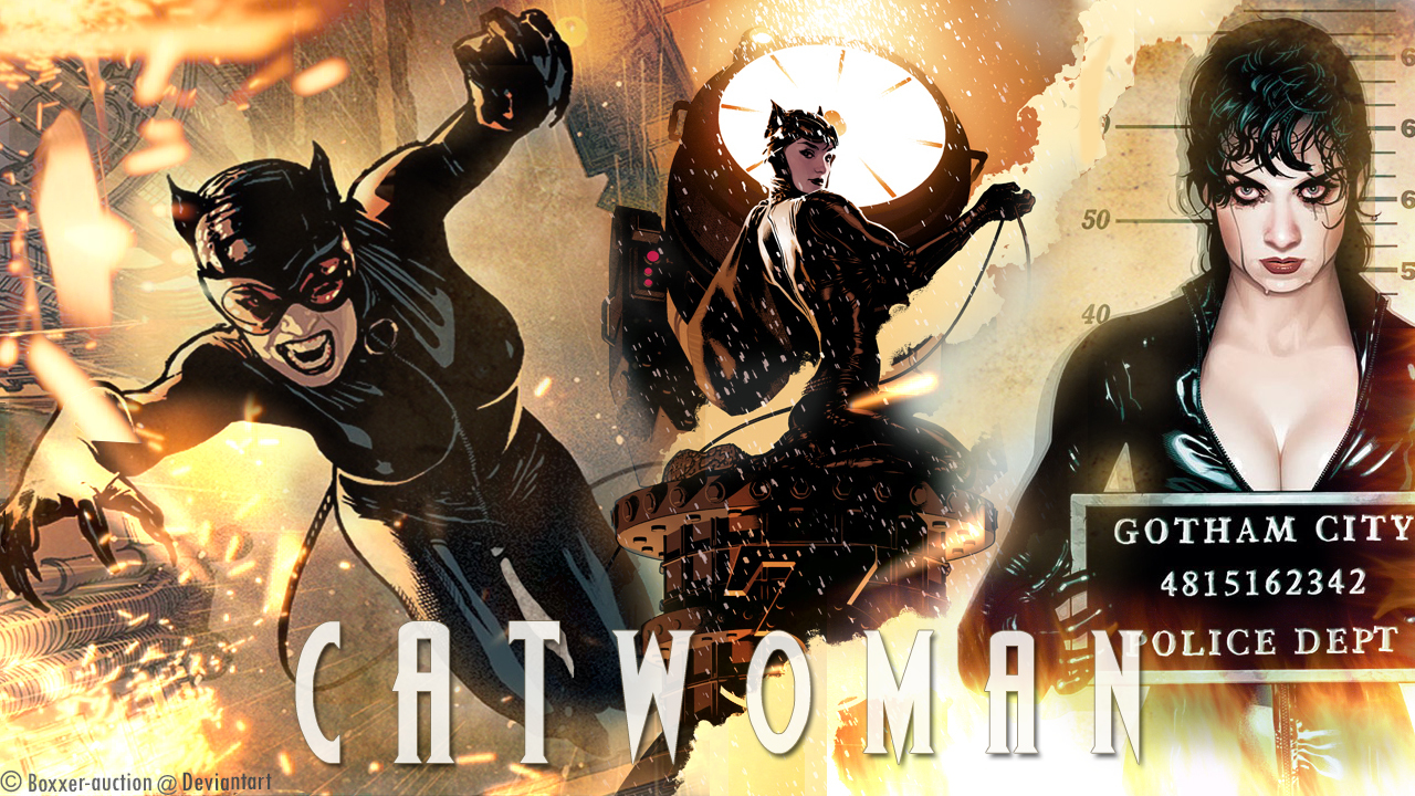 dc comics comics Catwoman HD Wallpaper