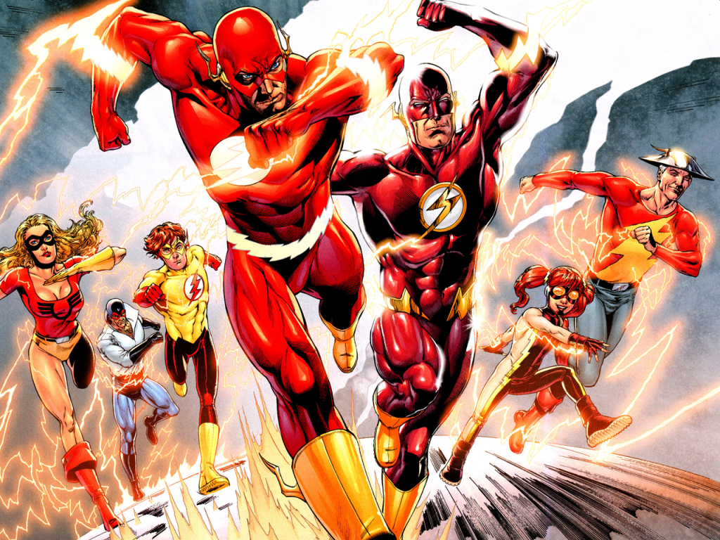 dc comics flash The HD Wallpaper