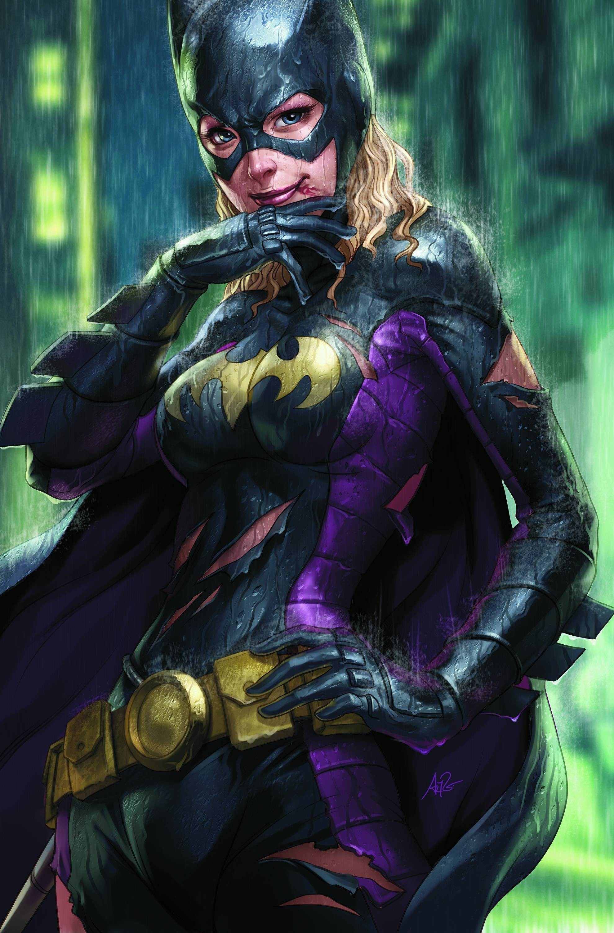 dc comics superheroes Batgirl HD Wallpaper