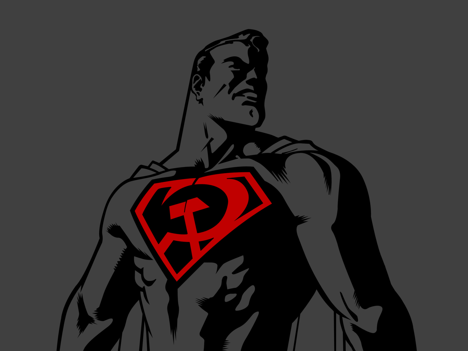 dc comics superman Communist HD Wallpaper