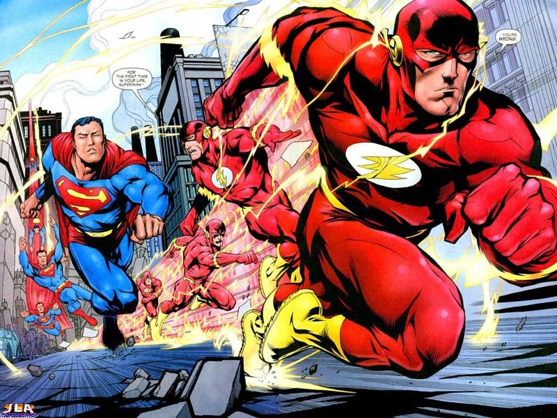 dc comics superman Flash HD Wallpaper