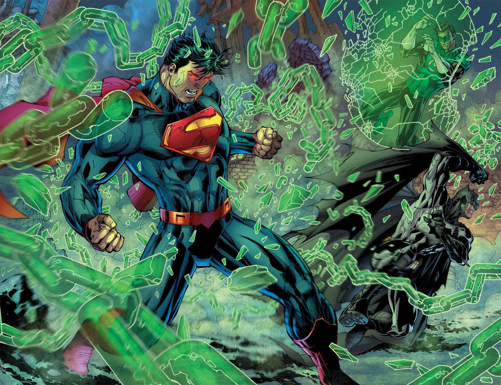 dc comics superman Justice HD Wallpaper