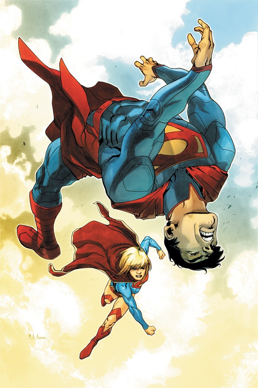 dc comics superman supergirl HD Wallpaper