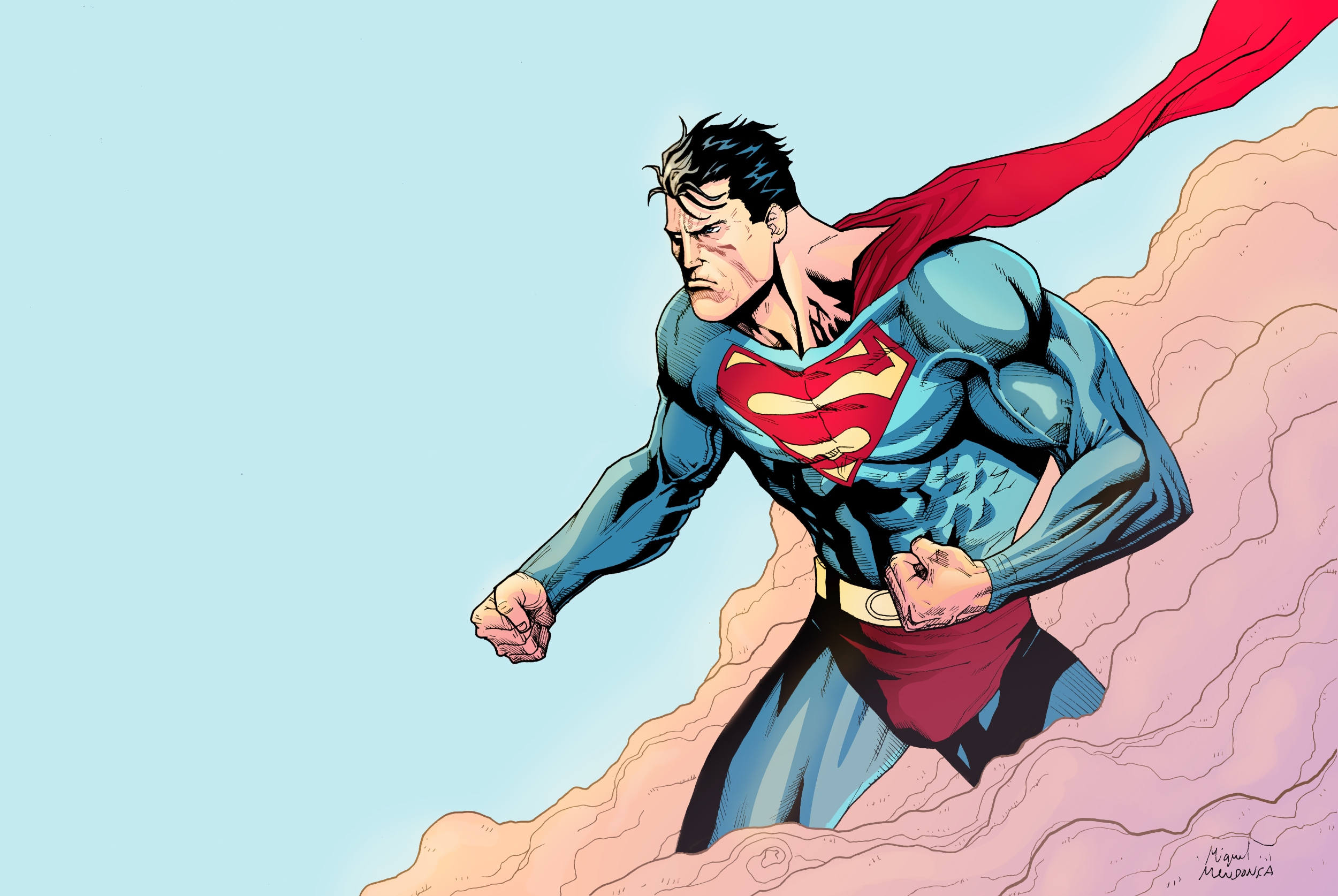 dc comics superman superheroes HD Wallpaper