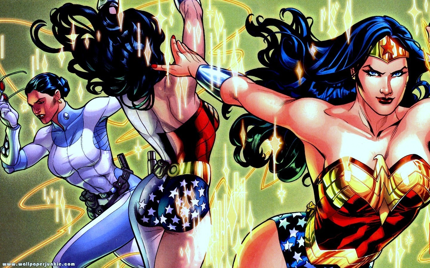dc comics wonder woman HD Wallpaper