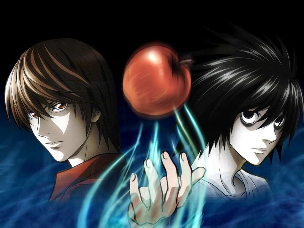 death note apples HD Wallpaper