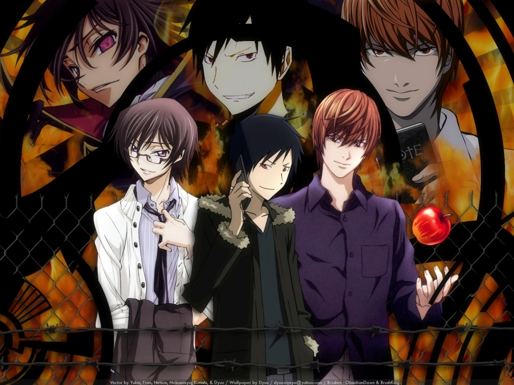 death note code geass HD Wallpaper