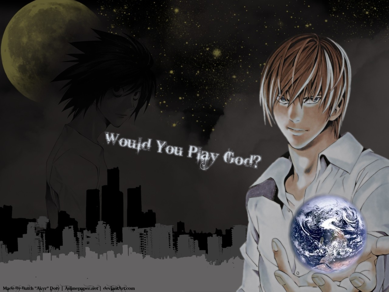 death note death Yagami HD Wallpaper