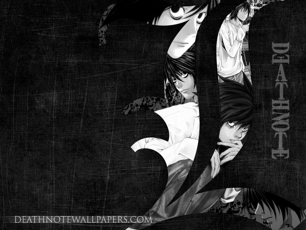 death note Manga HD Wallpaper