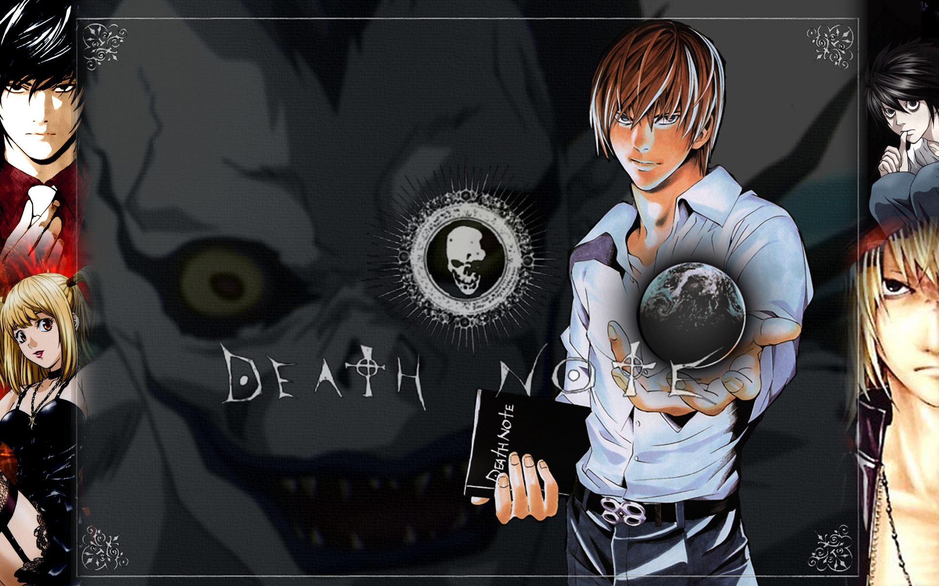 death note ryuk Yagami HD Wallpaper