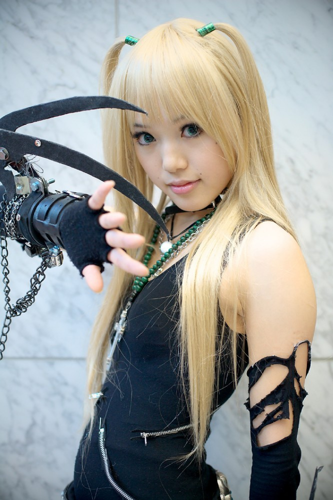 death note woman cosplay HD Wallpaper