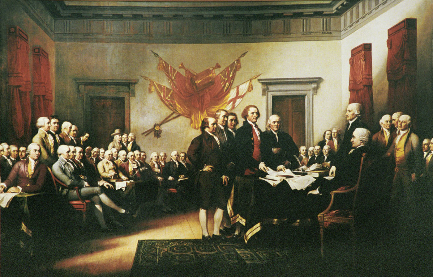 declaration of independence by HD Wallpaper