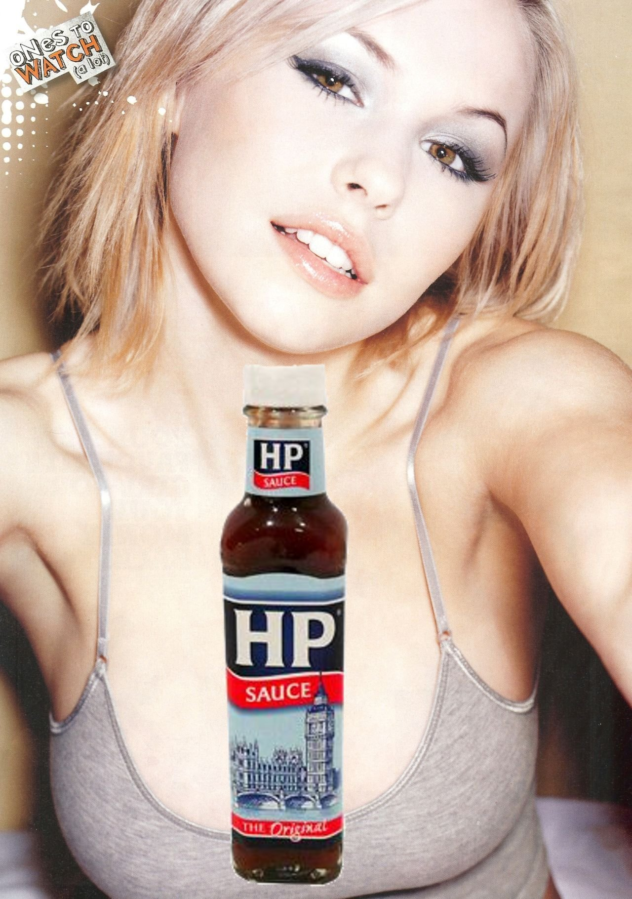 delivered hp sauce girl HD Wallpaper