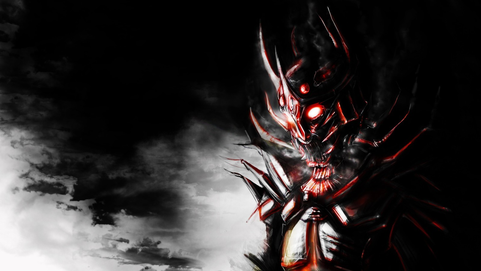 demons samurai armor Demonic HD Wallpaper