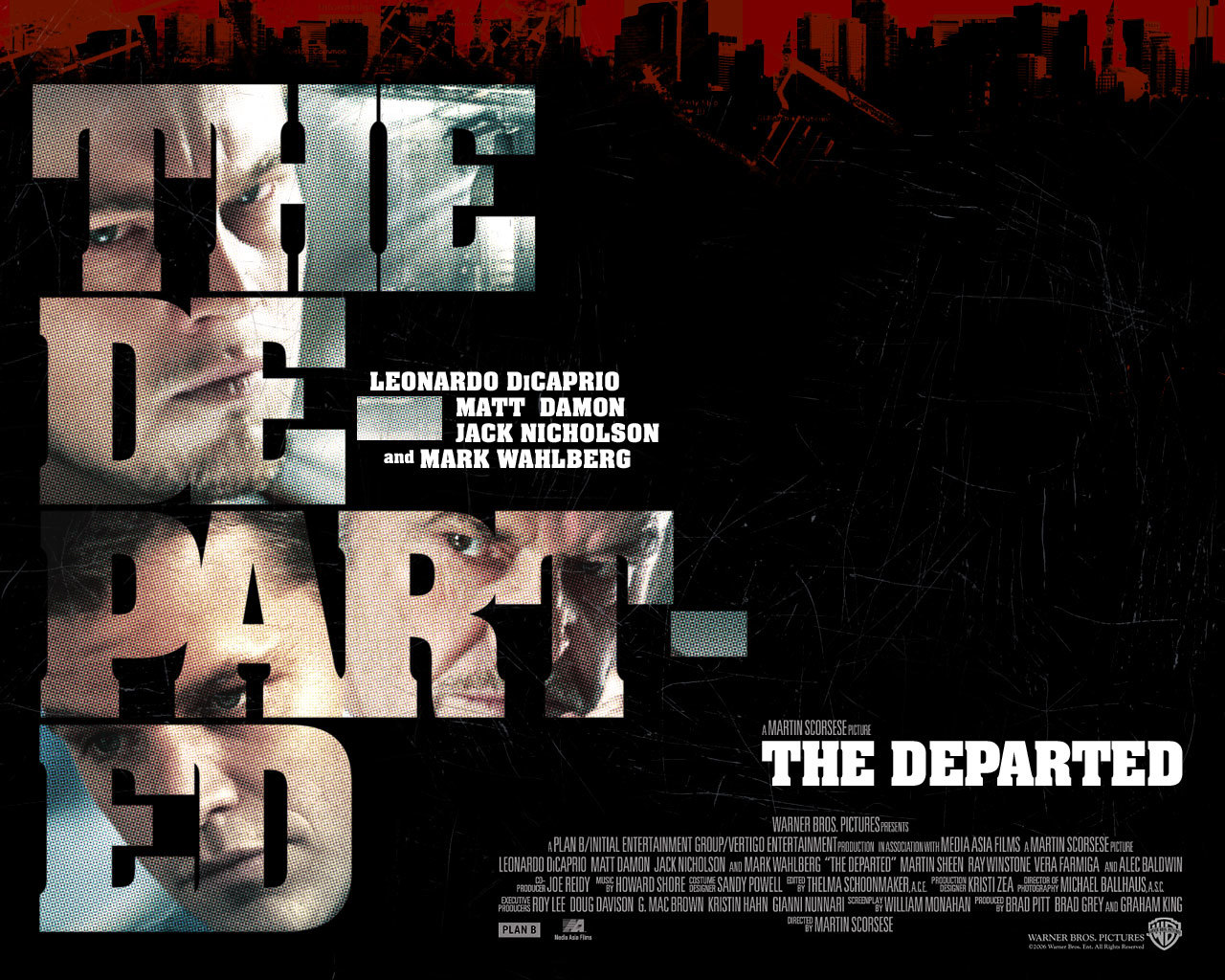 departed Movie poster HD Wallpaper