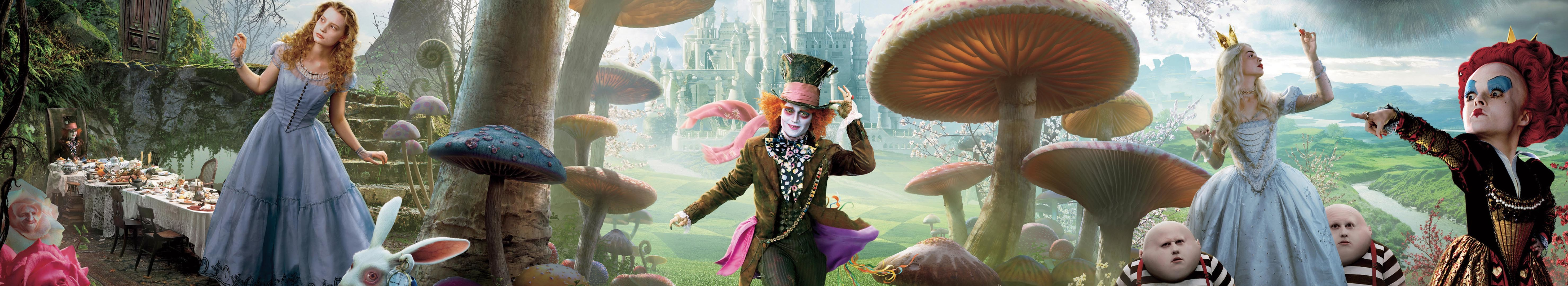depp Celebrity Alice in HD Wallpaper