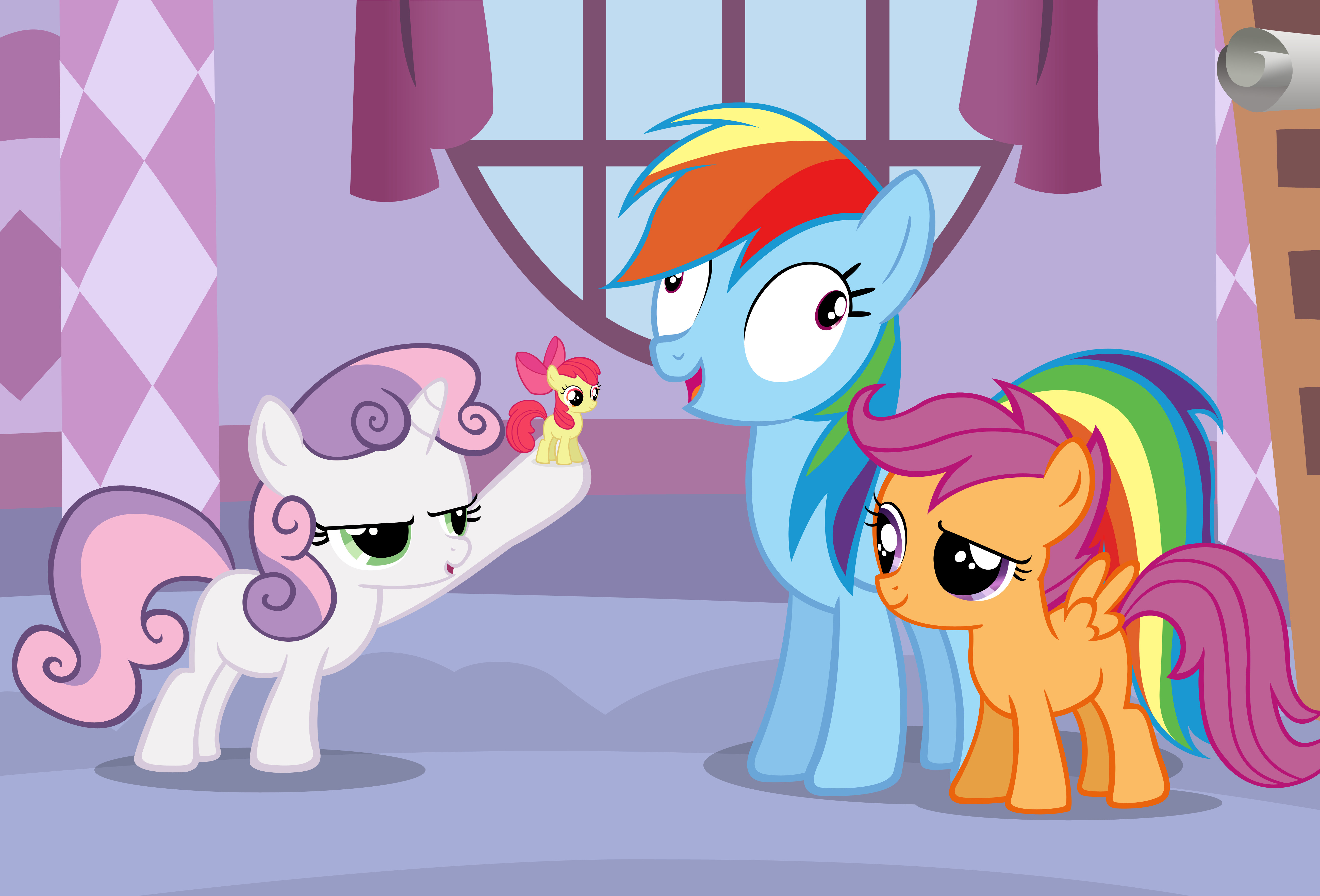 derp My little pony HD Wallpaper