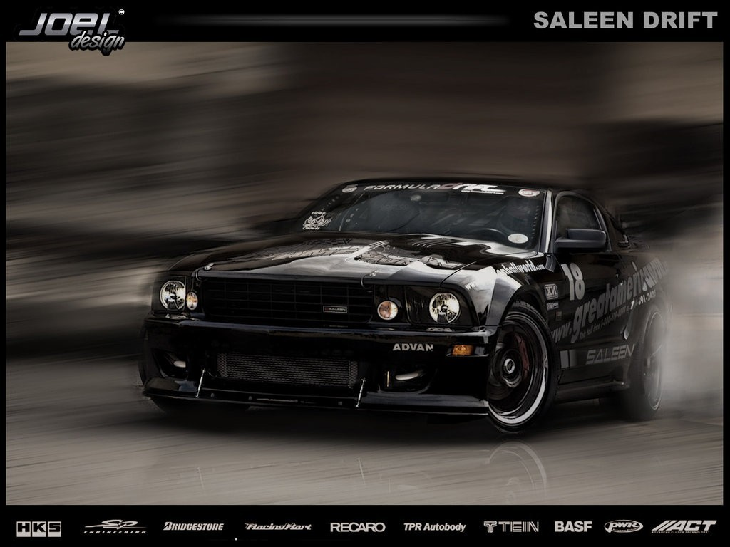 design drifting cars Saleen HD Wallpaper