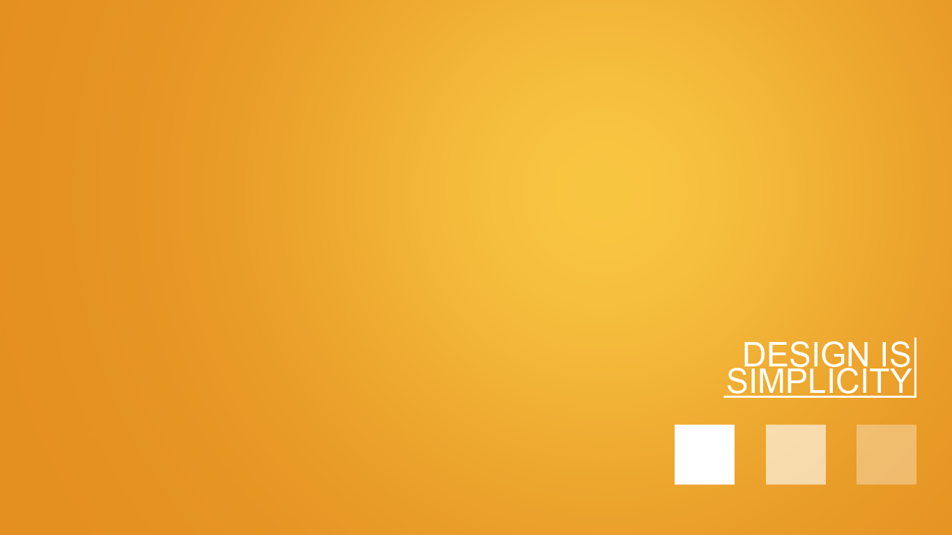 design minimalistic orange simple HD Wallpaper